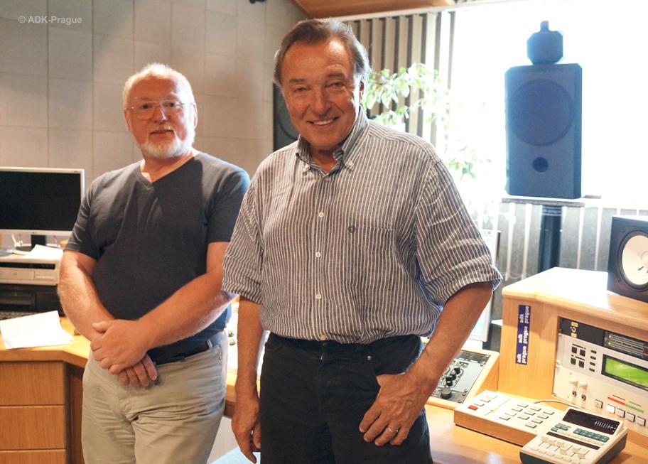 Karel Gott, Oldřich Slezák - mastering ADK-Prague